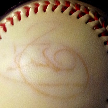signed yankees ball...anyone know whos signature this is????