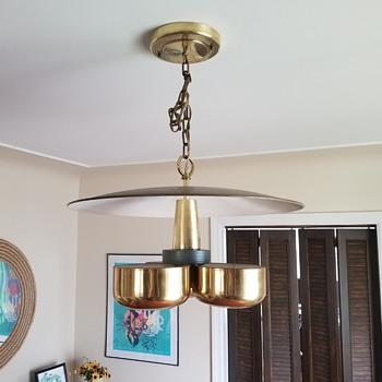 1950s Gerald Thurston Chandelier - Lamps