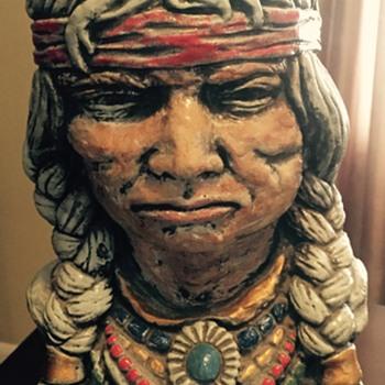 Indian head bust
