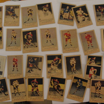 Hockey Cards 1951 52 Parkies