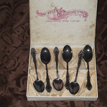 Wm A. Rogers Silverplated Demitasse Spoons  - Silver