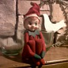 Vintage 1960's knee-hugger elf