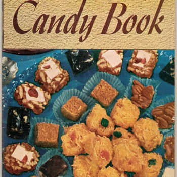 "1941 - Recipe Booklet ""The Candy Book"" - Books"