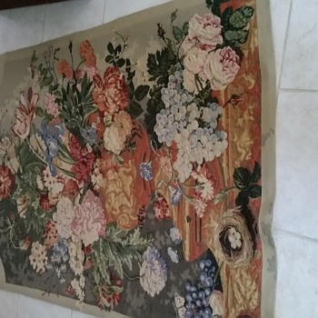 """70"""" x  50"""" Florial tapestry"""