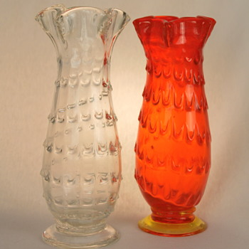 Two vases from Ryukyu Glass Company - Art Glass