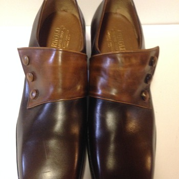 Old unworn Arnold Glove grip shoes