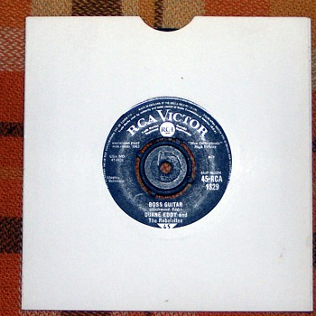 1963-duane eddy-'boss guitar'-45rpm-fast pop. - Records