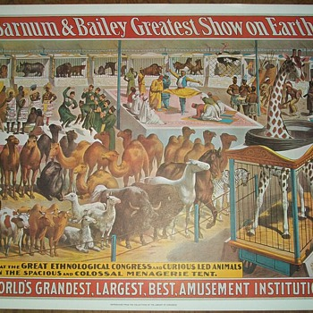 Barnum and Bailey Circus Posters (4 designs) - Posters and Prints
