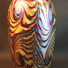 Donald Carlson Art Glass Vase