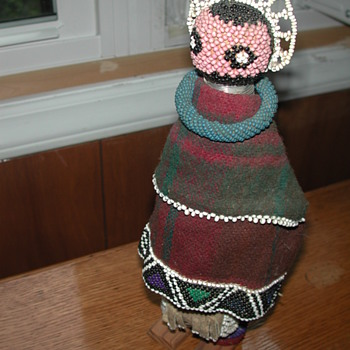Any Info on Native American Indian Beaded Doll