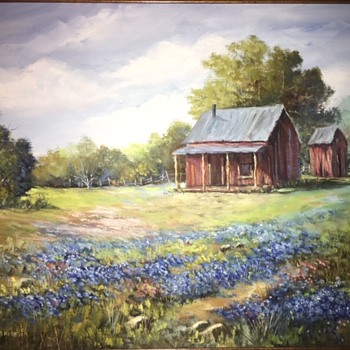 E. Frost Andrews Original Oil Painting - Fine Art