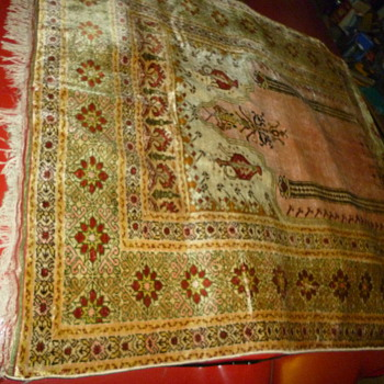 silk rug or kilm - Rugs and Textiles