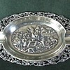 Dutch Sterling ~ Repousse & Ajoure 'Ash Tray' 1911