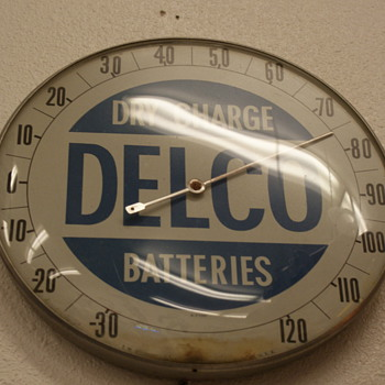DELCO Thermometer - Advertising