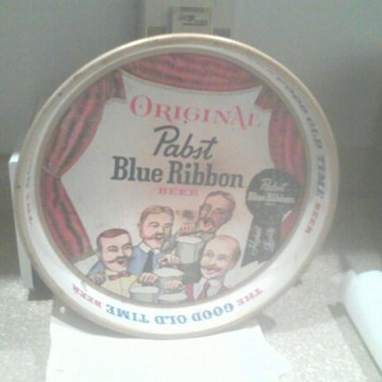 Pabst Blue Ribbon Tray