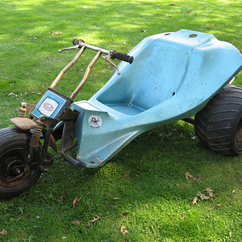 Columbia MTD Mud-Bug 3 wheel minibike yard trike - Motorcycles