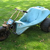 Columbia MTD Mud-Bug 3 wheel minibike yard trike