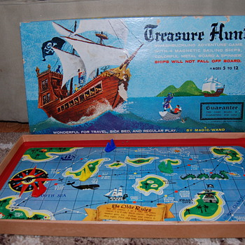 Exciting Magnetic Game Treasure Hunt - Games