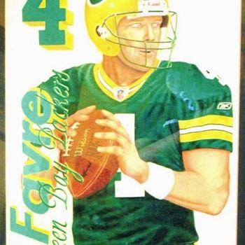 Brett Favre painting - Football