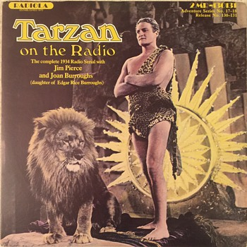 Tarzan on the Radio  - Records
