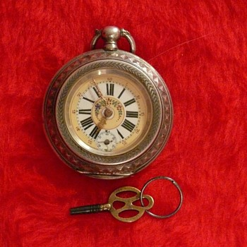 French made pocket watch 1846-1860 with key. need more info - Pocket Watches