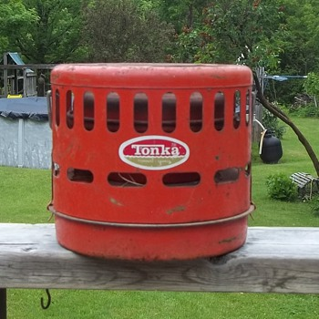 Tonka Camping Orange Color  Heater