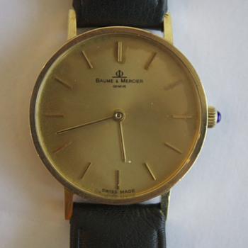 inherited a Baume & Mercier watch, can someone tell me more about it? - Wristwatches