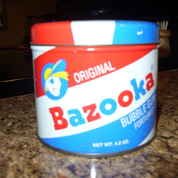 bazooka bubble gum - Advertising