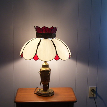 My favorite antique lamp. - Lamps