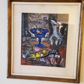 Artwork 1 inherited from my aunt  - Fine Art