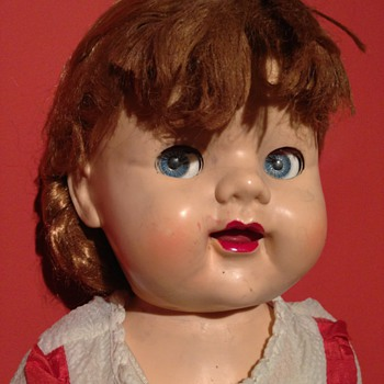 A lovely looking doll     made in England  - Dolls