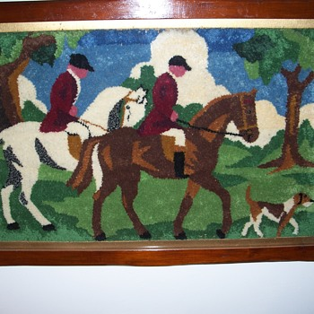 The Hunt wall hanging - Rugs and Textiles