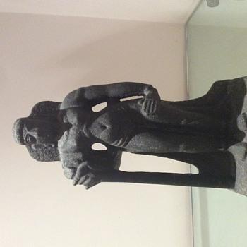 Stone statue - origin unknown - Fine Art