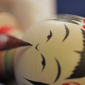 A Look at the Noruko Method of Kokeshi Doll-making. - Dolls