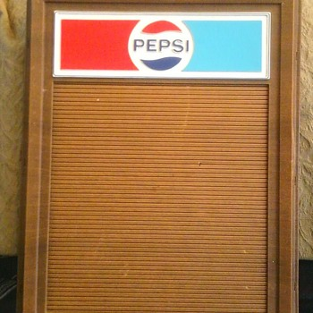 Pepsi 'Menu Boards' - Advertising