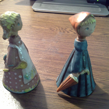 I have added a picture of the bottom of these terracotta figurines. - Pottery