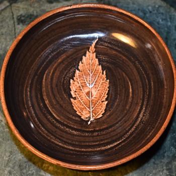 Hand thrown York England Small Bowl - Pottery