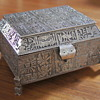 Peruvian Solid 900 Silver Jewelry Casket – An Auction Find