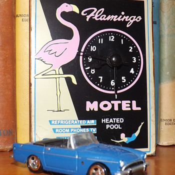 Flamingo Motel Advertising Piece  - Advertising