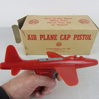 Marx Air Plane Cap Pistol - Toys