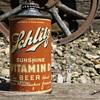1938 Schlitz Sunshine Vitamin D Cone Top Beer Can