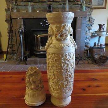 oriental urn - Asian