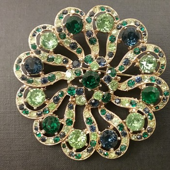Bogoff brooch  - Costume Jewelry