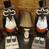 """Variety of """"Old Crow"""" Whiskey advertising figures.........."""