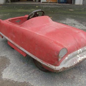 Old Pedal Car - Model Cars