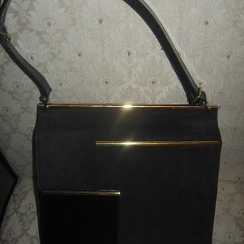 Vtg Block Handbag