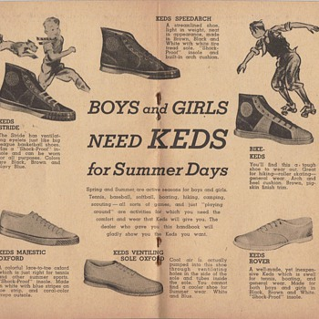 DAD'S ADS KEDS - Shoes