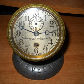 Antique Brass Speedometer? - Clocks