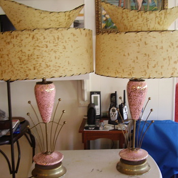looking for info, just found these - Lamps