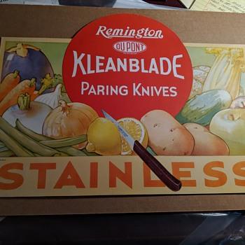 Remington Klean Blade Paring Knife Advertising - Advertising